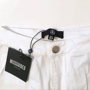 NWT High waisted white skinny jeans